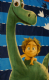 The Good Dinosaur character polarfleece Blanket.